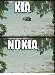 KIA  --->  NO KIA