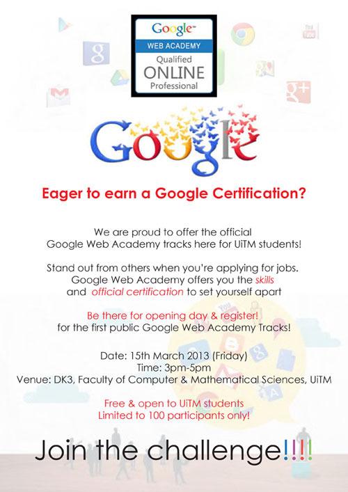 Uitm-google-web-academy