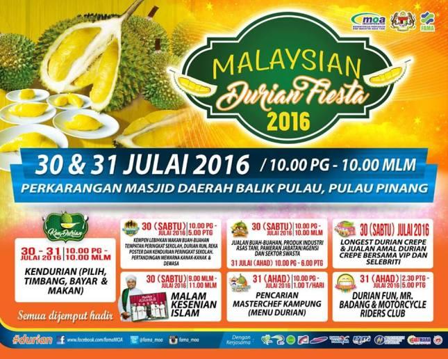 pesta durian pp julai2016